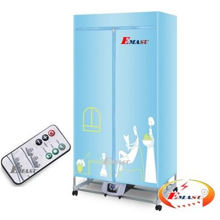 Máy sấy quần áo Emasu Nhật Bản ET305UV emasu.vn  - Đại lý cấp 1 phân phối tủ sấy quần áo panasonic hd-882f vuông 2 tầng điều khiển từ xa