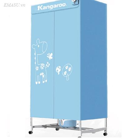 Mua máy sấy quần áo Kangaroo KG326 sấy 10kg giá rẻ tại Emasu
