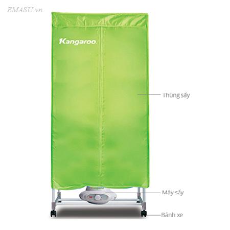 Nơi bán máy sấy quần áo Kangaroo KG307 giá rẻ nhất tháng