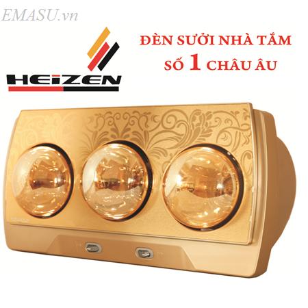 Tổng kho phân phối đèn sưởi Heizen 1000w chống chói toàn phần HEIT610